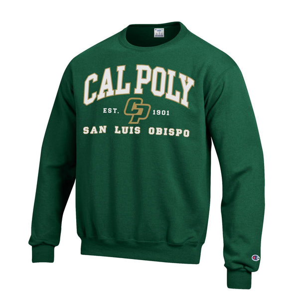 California Polytechnic University San Luis Obispo SweatshirtGreen-Shop College Wear