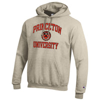 Princeton University Tigers Champion Hoodie Sweatshirt-Oatmeal-Shop College Wear
