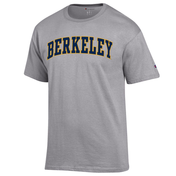U.C. Berkeley Arch Champion T-shirt-Gray-Shop College Wear