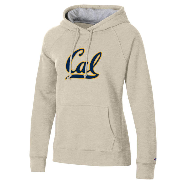 U.C. Berkeley Cal Bears Rochester Champion hoodie sweatshirt-Oatmeal-Shop College Wear