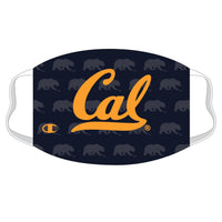 U.C. Berkeley Cal Champion face mask-Navy-Shop College Wear
