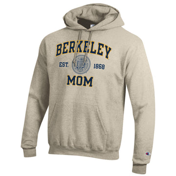 U. C. Berkeley Cal mom Champion sweatshirt Oatmeal.