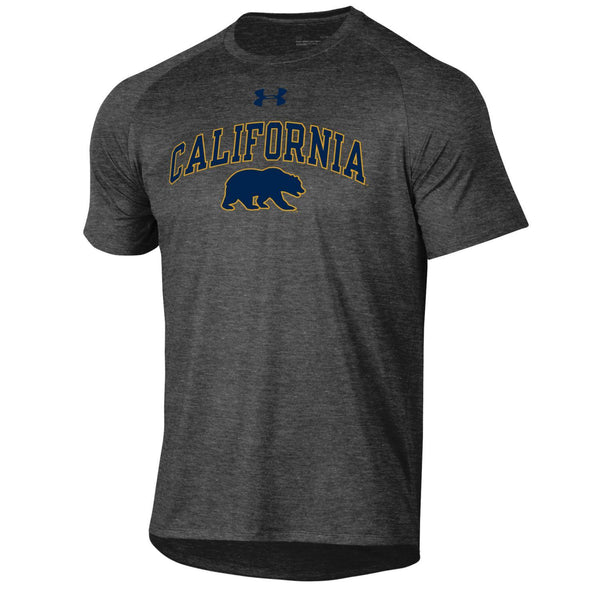 U.C. Berkeley Cal Bears Under Armour T-Shirt-Charcoal-Shop College Wear