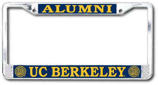 UC Berkeley Alumni Dome Sticker License Plate Frame-Shop College Wear