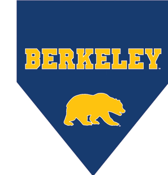 UC Berkeley Cal Pet Bandanna Woven Navy-Shop College Wear