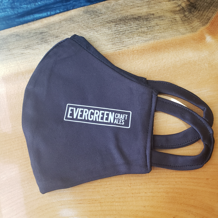 Evergreen Craft Ales Face Mask