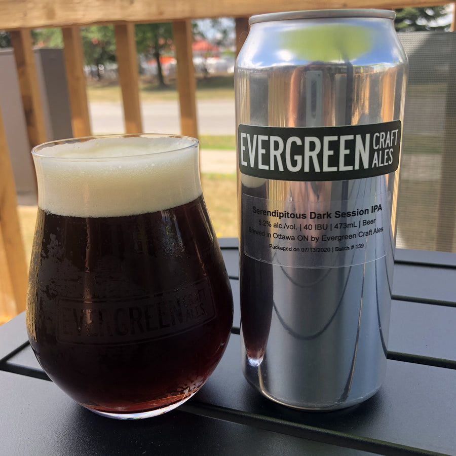 Serendipitous Dark Session IPA