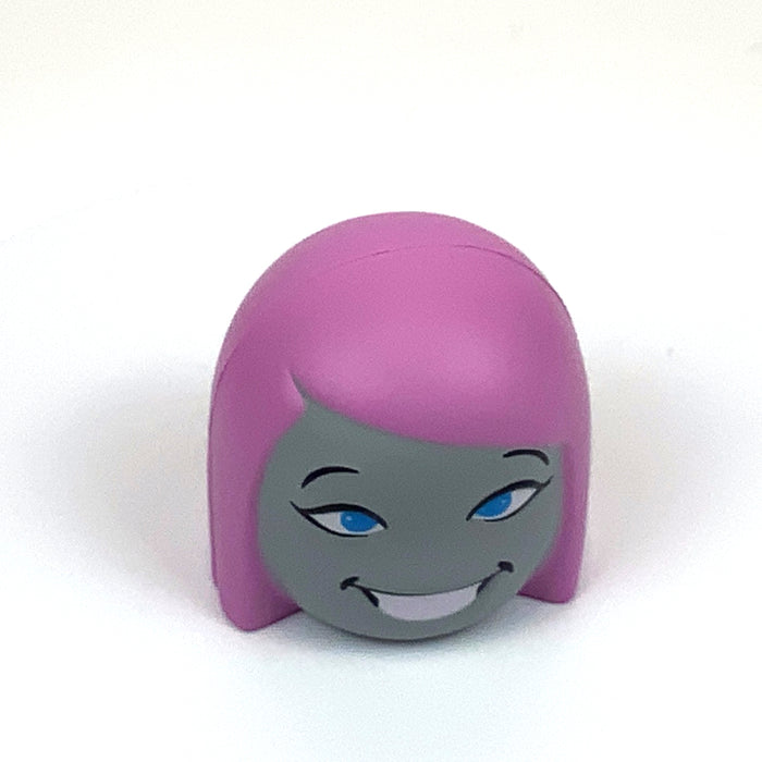 Purple Girl Head