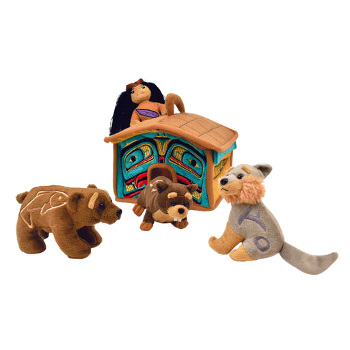 "Long House Play Set 10"" (Finger puppets sold separately)"
