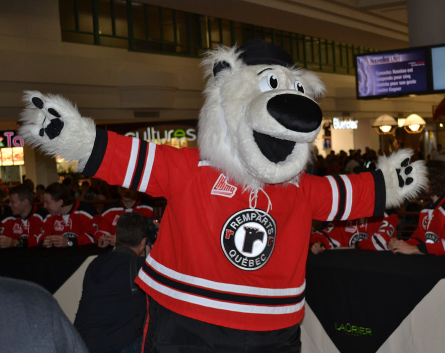 Remparts Champion Mascot