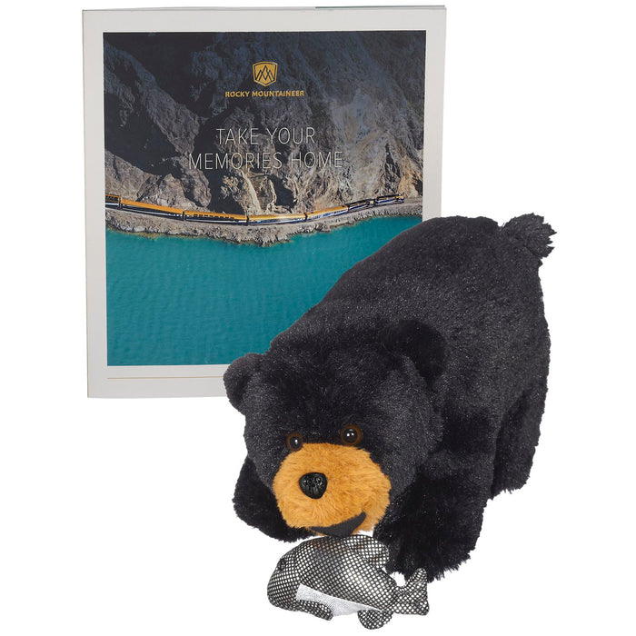 Fraser the Black Bear for Rocky Mountaineer Train Company