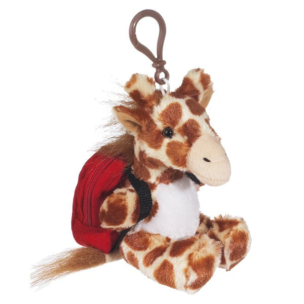 Mini Giraffe w/ Backpack Clip