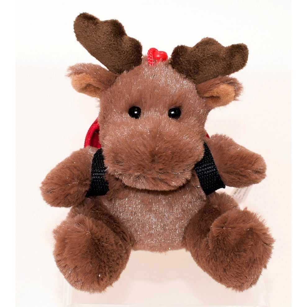 Mini Moose with & Backpack Clip