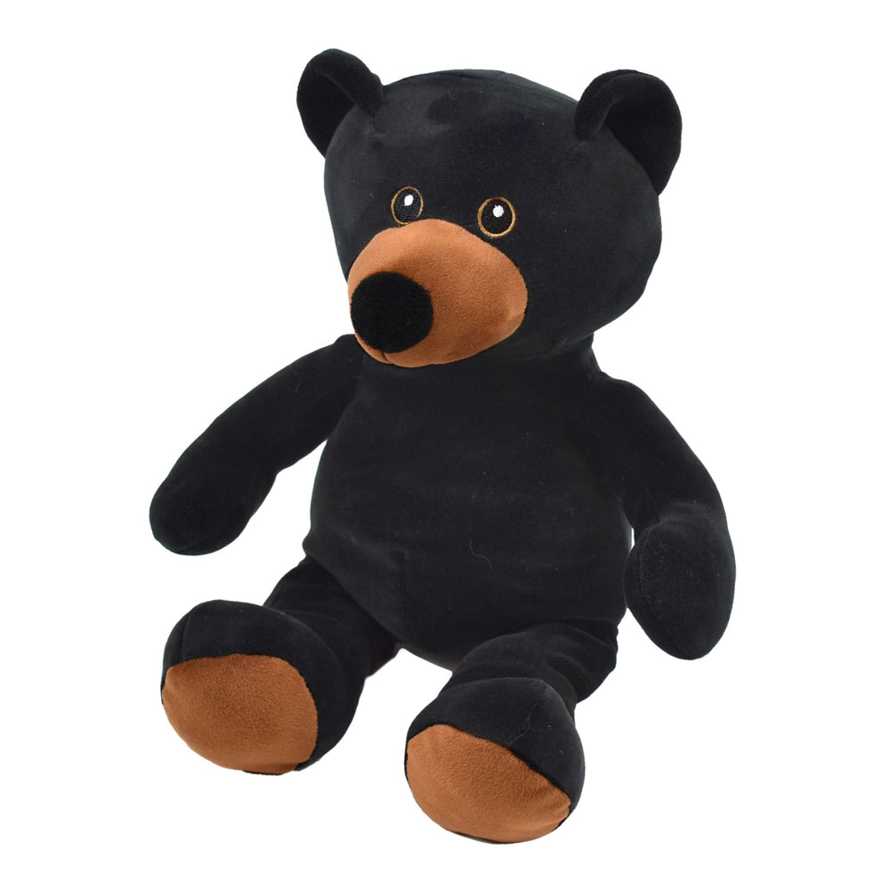 "11"" Black Teddy Bear - Super Softy"