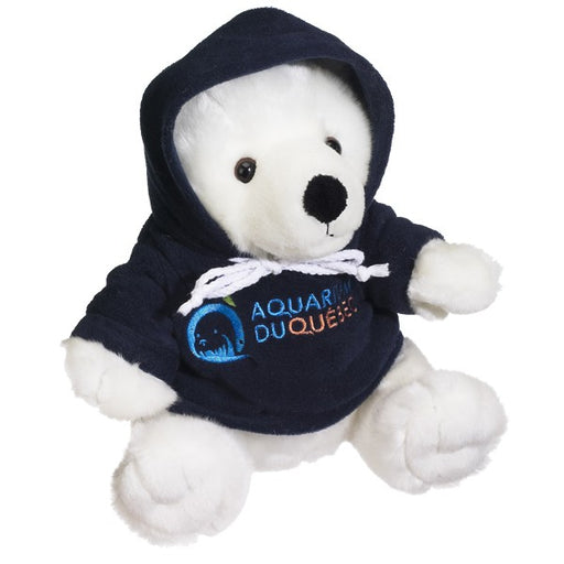 Polar Bear with Hoodie