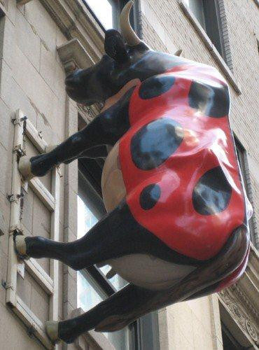 Talbot Hotel Chicago Cow