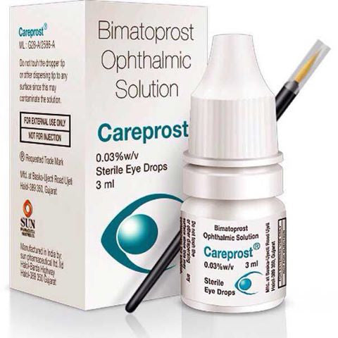 Dupe Alert!  Careprost vs. Latisse
