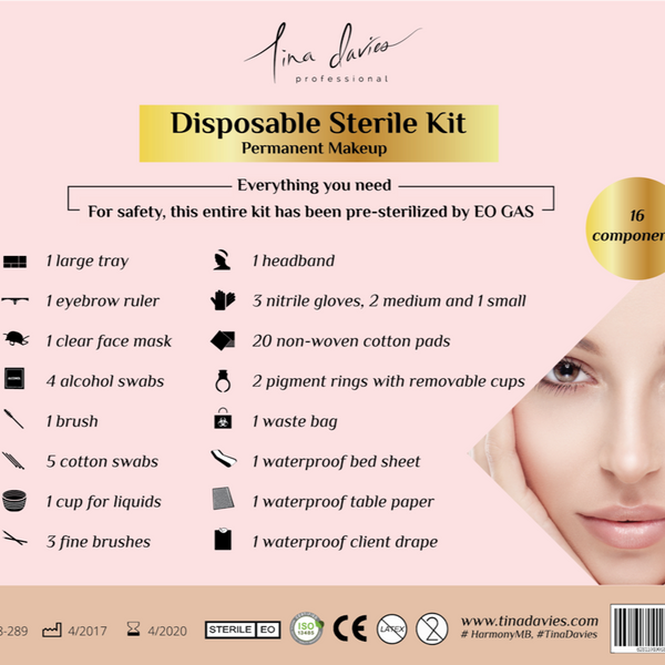 Disposable Sterile Kit - 10 Pack - Uptown Beauty Pro