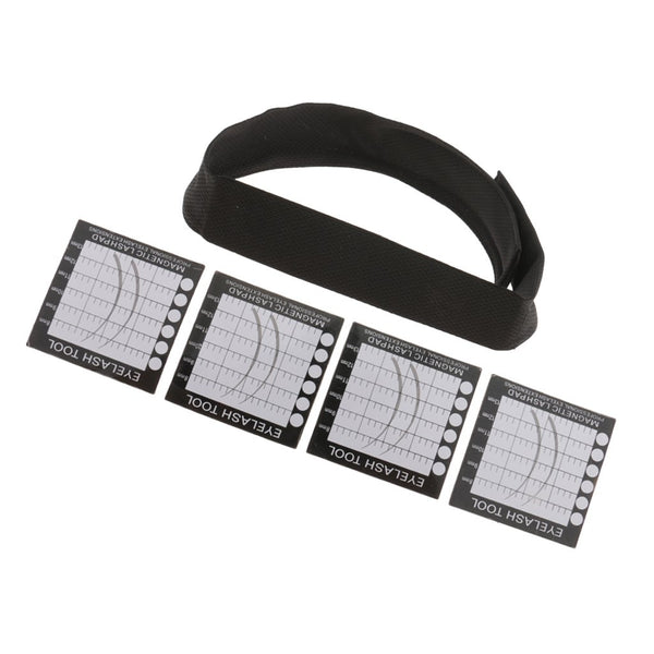 Magnetic Lash Holder Headband - Uptown Beauty Pro