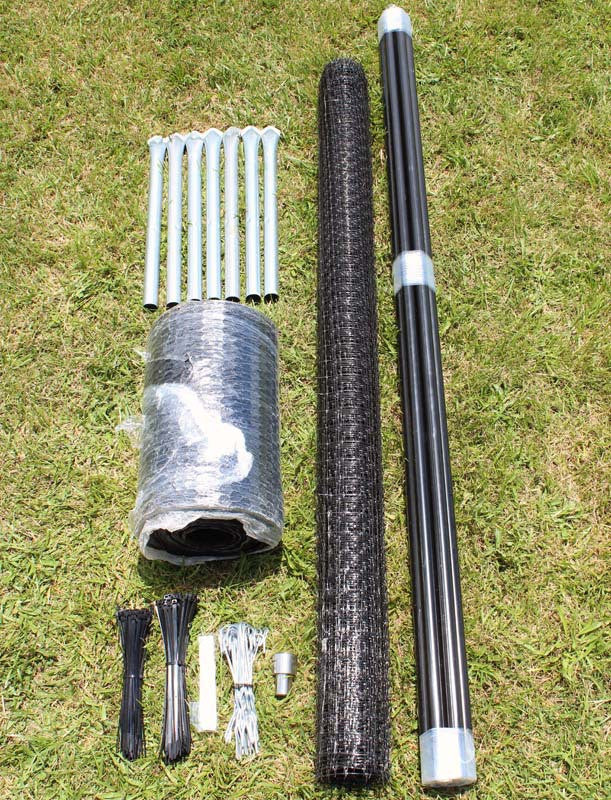 8 X 100 Maximum Strength Deer Fence Kit With Rodent Protection Deerbusters Canada