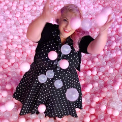 Pink ball pit at Sugar Republic