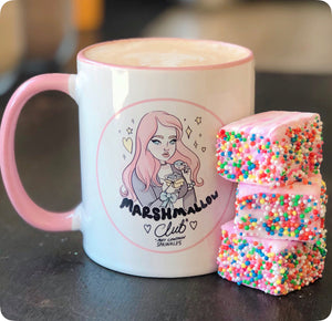 Handmade Marshmallows with Sprinkles