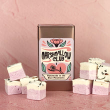 Load image into Gallery viewer, Gift tin with French Earl Grey Tea Marshmallows