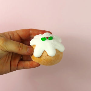 Handmade Christmas Pudding Marshmallow