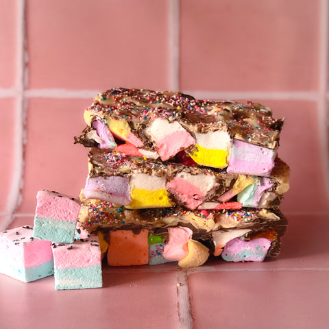 Rocky Road with Handmade gourmet Marshmallows