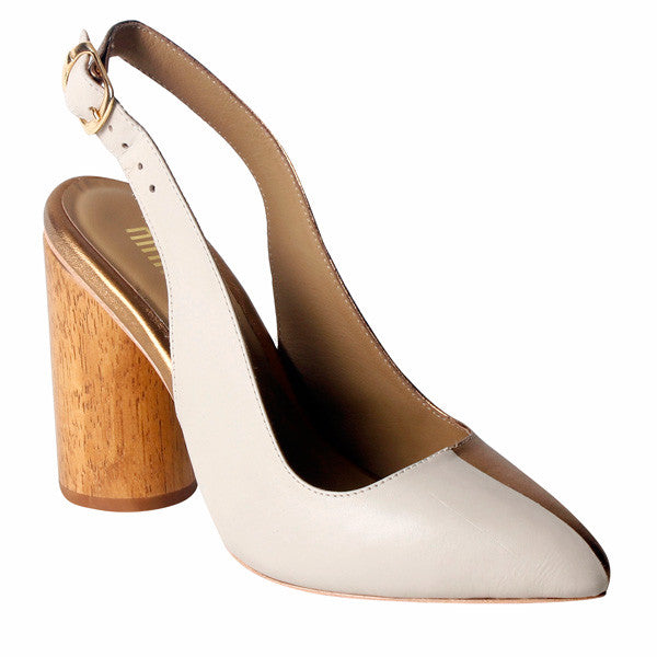 Una Two-Tone Cylindrical Heel