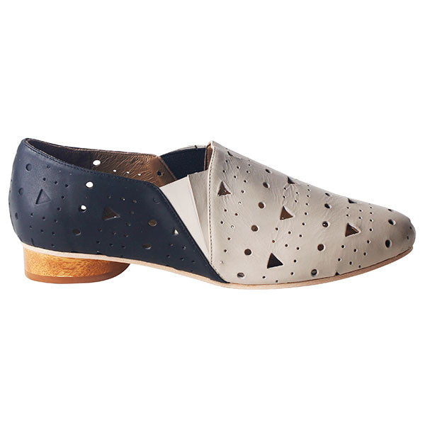 Marlowe Perforated Slipper Oxford