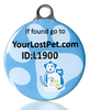 PetHealthlocker SMART Pet Tag Large Blue - Large / Blue