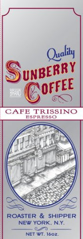 Sunberry's Cafe Trissino Espresso, One Pound, Ground