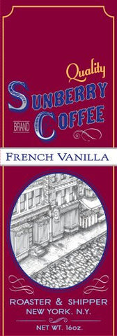 French Vanilla Coffee, One Pound, Ground