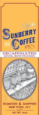 Natural Water Processed Decaffeinated Coffee, One Pound, Beans