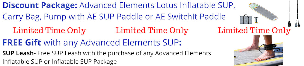 Advanced Elements Lotus Y-SUP Packages