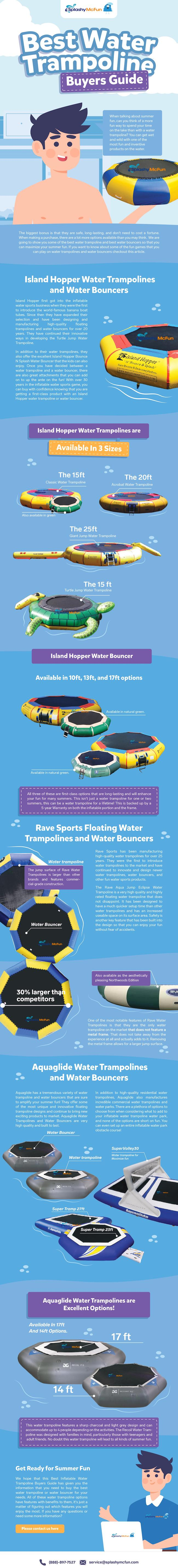 Best Water Trampolines for Sale Buyer's Guide