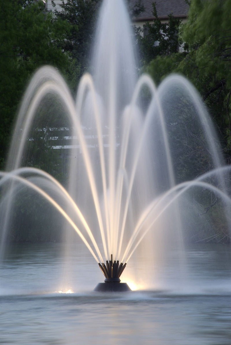 Floating Pond Fountain for Sale Image