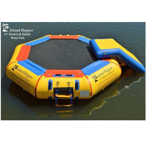 10ft Bounce N Splash with Water Slide completes the Island Hopper 10 Bounce N Splash Waterpark