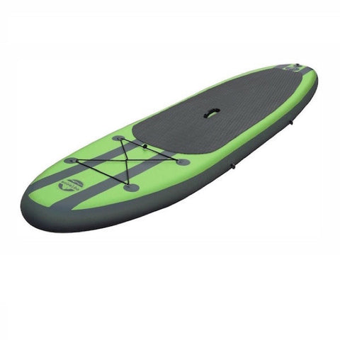 Outdoor Tuff 10ft Inflatable Stand Up Paddle Board (SUP) top view