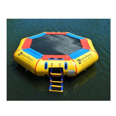 Island Hopper Bounce N Splash Water Bouncer