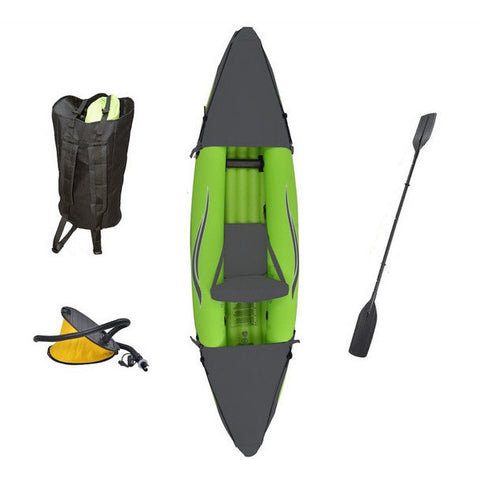 Outdoor Tuff Stinger III 1 Person Inflatable Sport Kayak