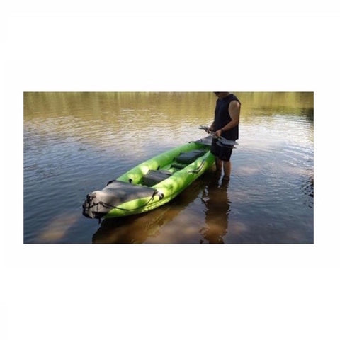 Outdoor Tuff Stinger IV Two Person Inflatable Sport Kayak lakeside