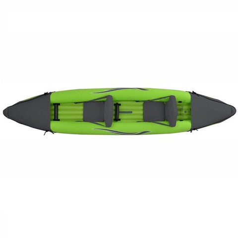 Outdoor Tuff Stinger IV Two Person Inflatable Sport Kayak top view