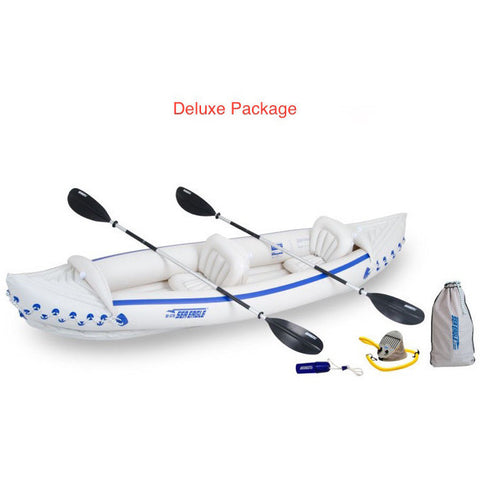 Sea Eagle 370 Sport Kayak | SE370K Inflatable Kayak Deluxe Package
