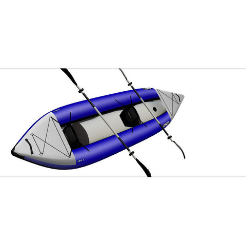 Sea Eagle Explorer 380X Inflatable Tandem Kayak top view.