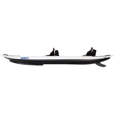 Sea Eagle FastTrack 385FT Tandem Inflatable Kayak side view.