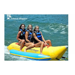 Island Hopper 3 Person Banana Boat Tube