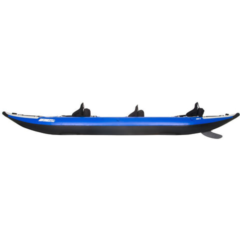 Sea Eagle Explorer 420X Tandem Inflatable Kayak side view.
