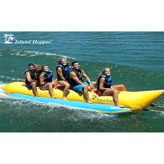 Island Hopper 5 Person Banana Boat Tube